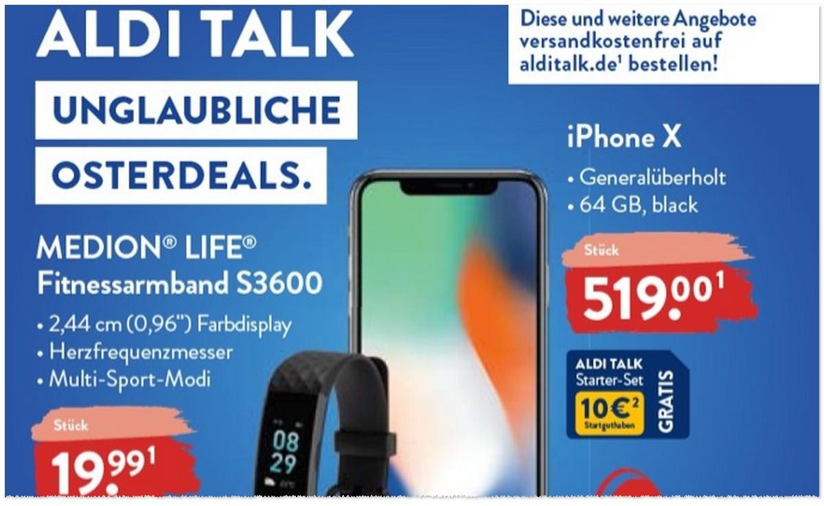 iPhones bei ALDI - iPhone SE oder iPhone 8 (generalüberholt) im Angebot