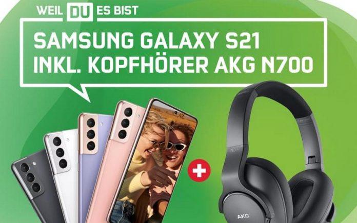mobilcom-debitel Samsung AKG Aktion