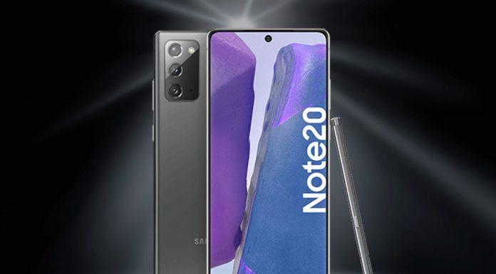 o2 Free M mit Samsung Galaxy Note 20