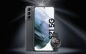 Smartwatch zum Samsung Galaxy S21