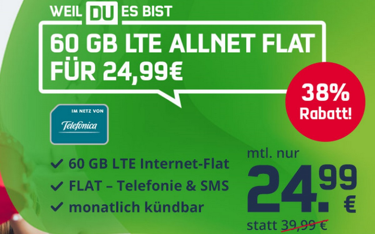 Telefónica green LTE 60 GB
