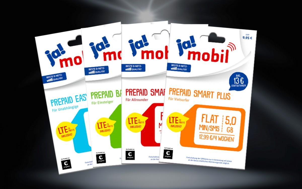 ja! mobil Startpaket