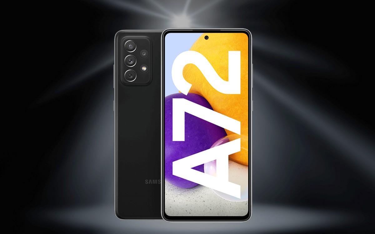 otelo Allnet-Flat mit Samung Galaxy A72