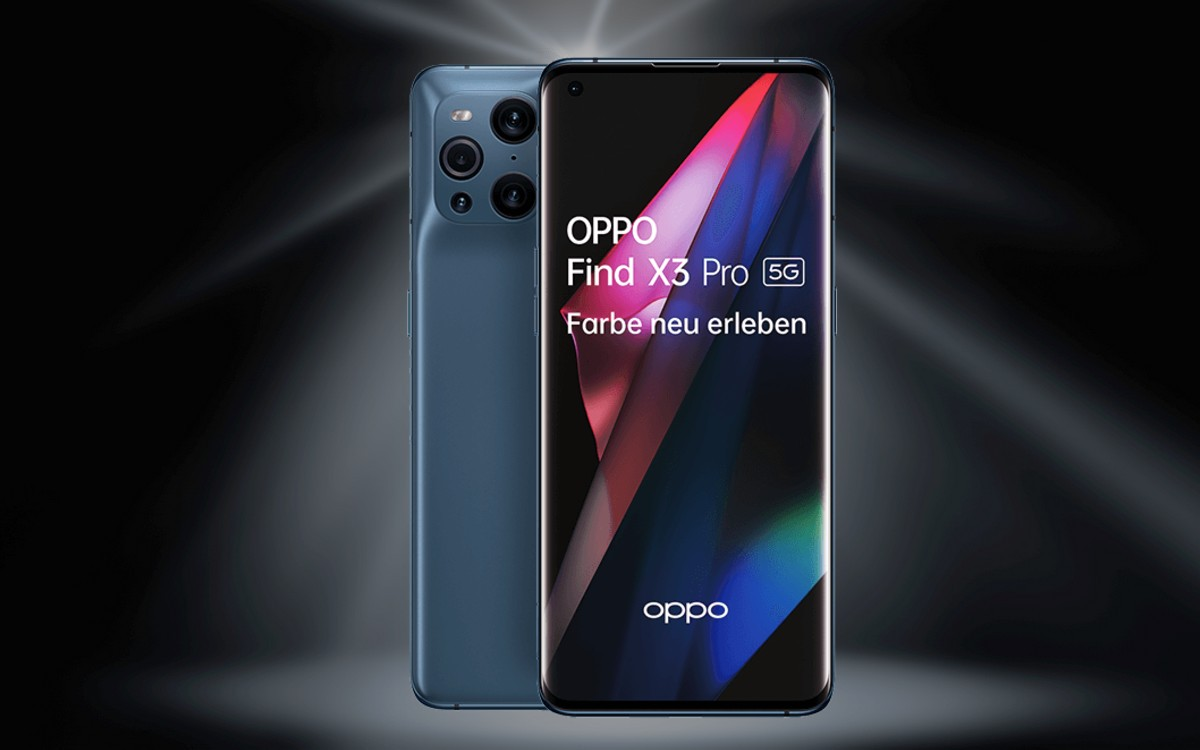 Vodafone Smart XL mit Oppo Find X3 Pro