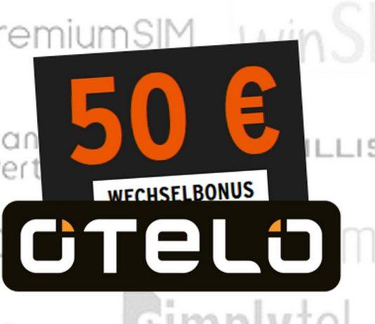 Erhöhter otelo Wechselbonus von 50 Euro - aber nur, wenn du von 1&1 oder Drillisch zum Vodafone-Discounter wechselst