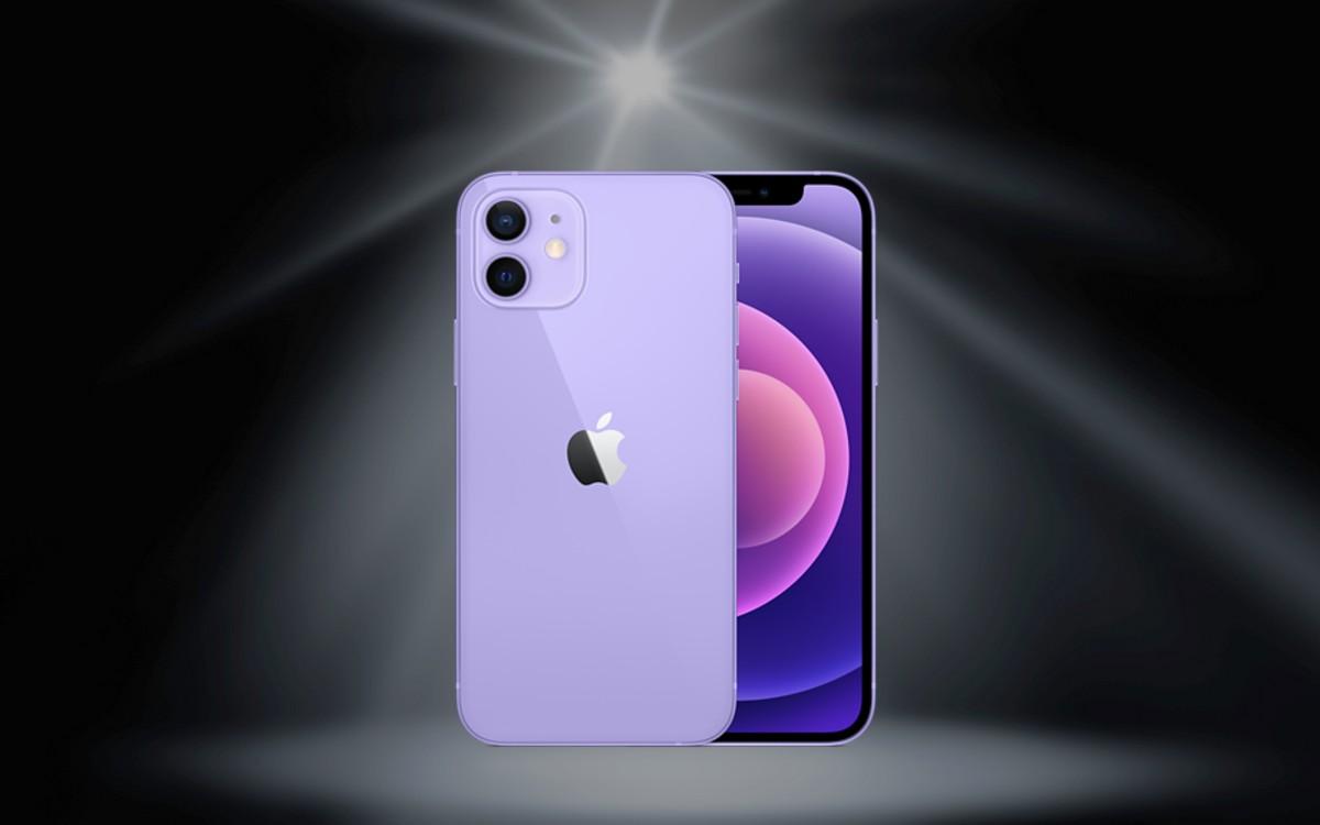Neue Farbe Violett für das iPhone 12