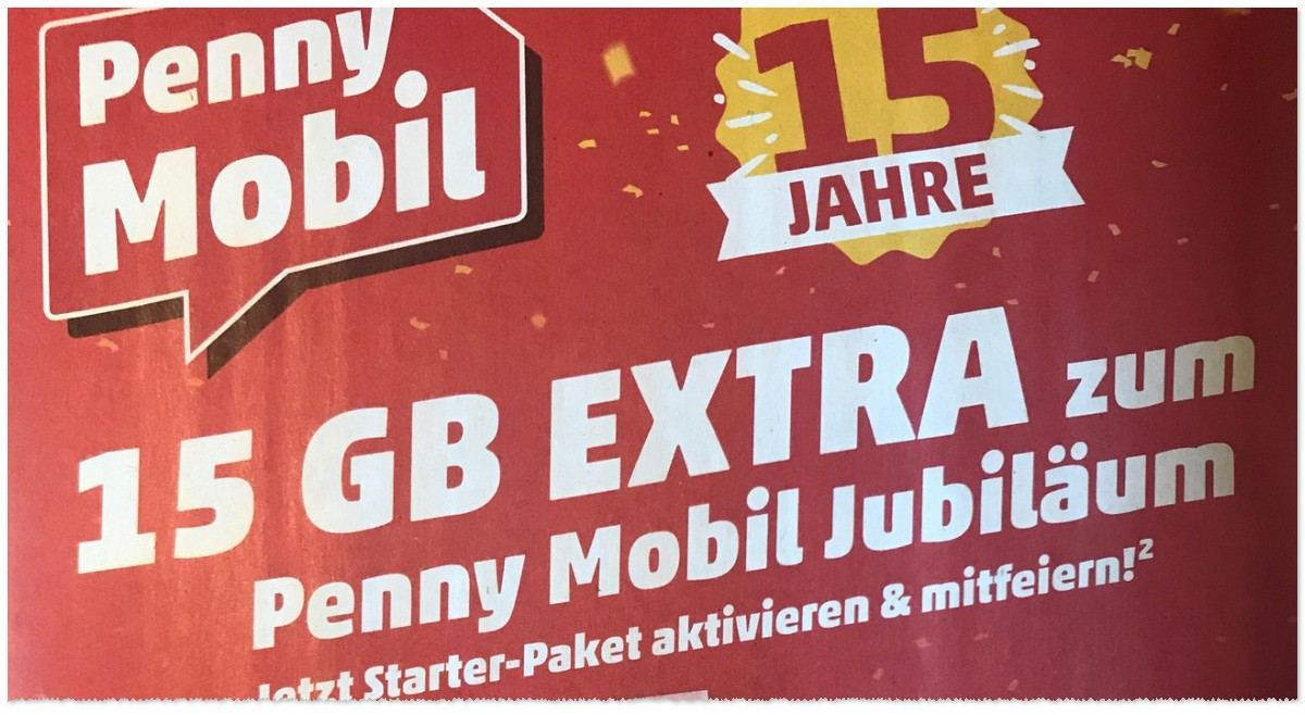 PENNY mobil 15 Jahre