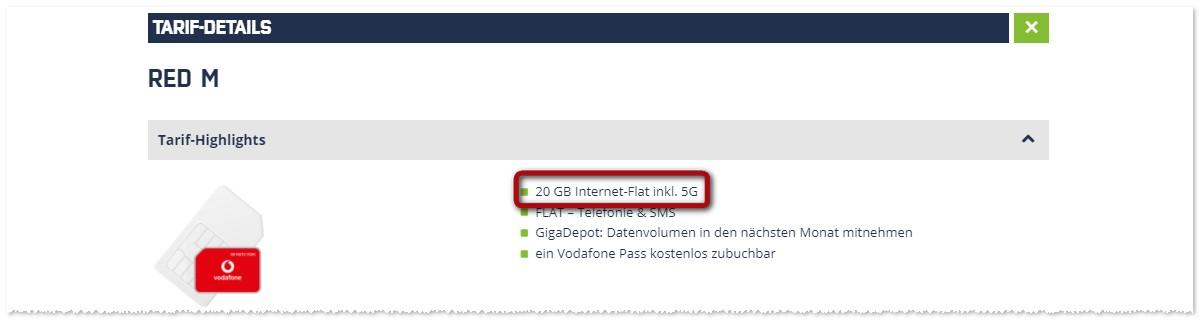 Vodafone Red von mobilcom-debitel