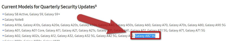 Galaxy A82 Vorstellung