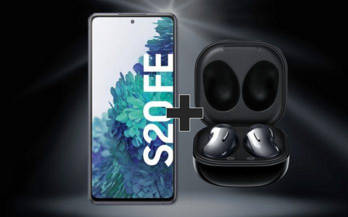 Samsung Galaxy Buds Live zum Samsung Galaxy S20 FE mit Vertrag