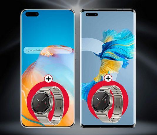 Huawei Watch (Porsche Design) gratis zu Huawei P40 Pro oder Huawei Mate 40 Pro bei 1&1 Drillisch