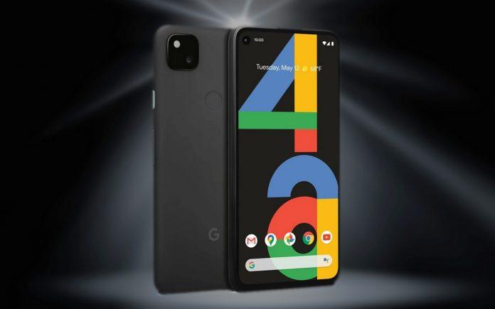 Vodafone green Google Pixel 4a