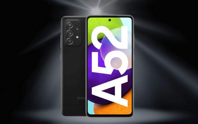 Vodafone green + Samsung Galaxy A52