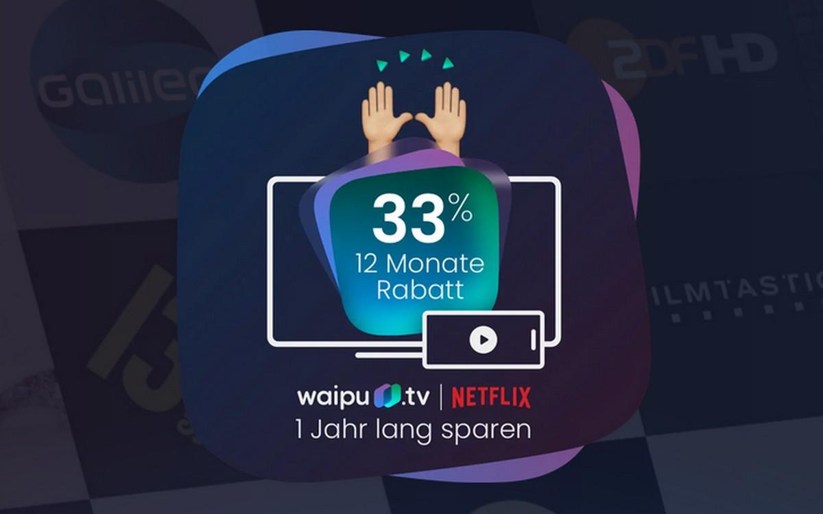 waipu.tv Aktionsangebot