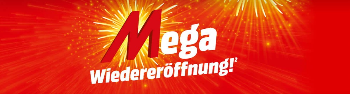 Mega Wiedereröffnung bei Media Markt