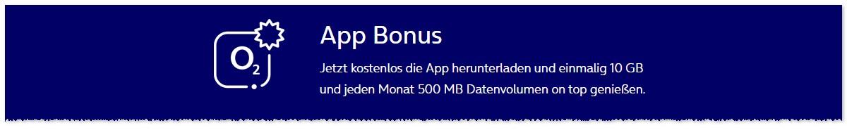 o2 App: 500 MB geschenkt