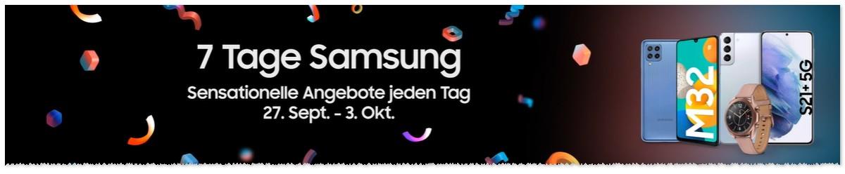 Sieben Tage Samsung bei Amazon
